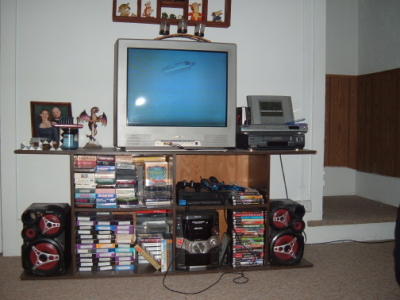January 2, 2007: The Not-So-Living Room.