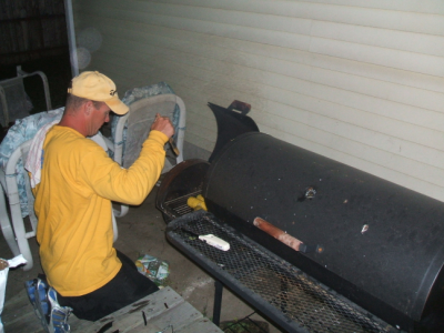 May 18, 2007: Smoked Corn.