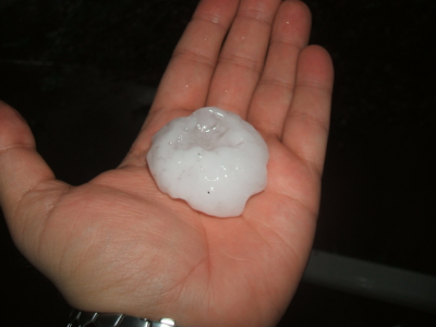 July 16, 2007: Killer Hail.