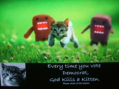 September 17, 2007: Please, Think Of The Kittens.