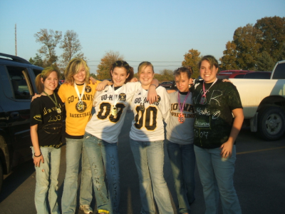 October 5, 2007: Homecoming Beauties.