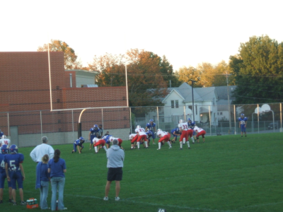 October 8, 2007: Touchdown, Second Try.