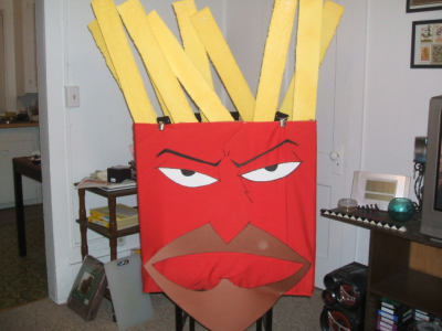 October 27, 2007: Finished Frylock.