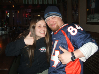 November 19, 2007: Old School Bronco Fans.