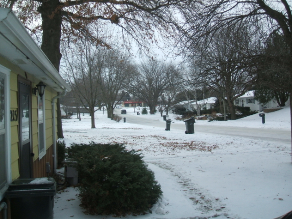 December 3, 2007: Welcome To Winter.