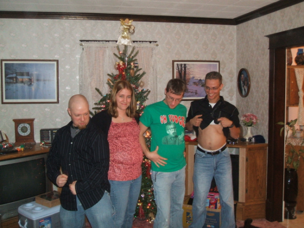 December 25, 2007: The Four Stooges.